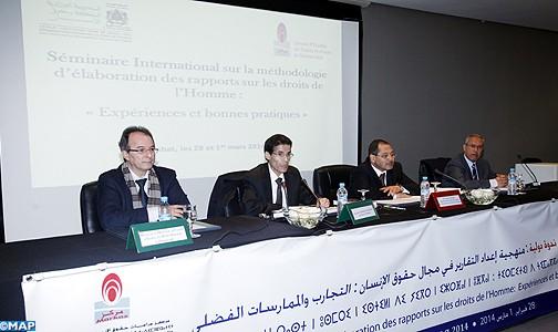Méthodologie d'élaboration des rapports sur les droits de l'Homme: «Expériences et bonnes pratiques»