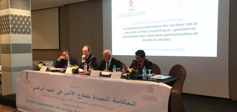La gouvernance du secteur de la sécurité à l'ère numérique : gestion et protection des données personnelles et droits humains