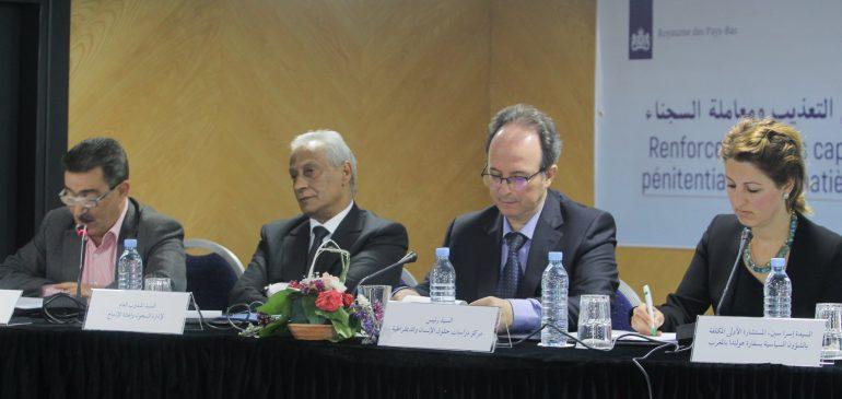 Rencontre : Renforcement des capacités des responsables et des cadres des établissements pénitentiaires en matière de prévention de la torture et de traitement des détenus