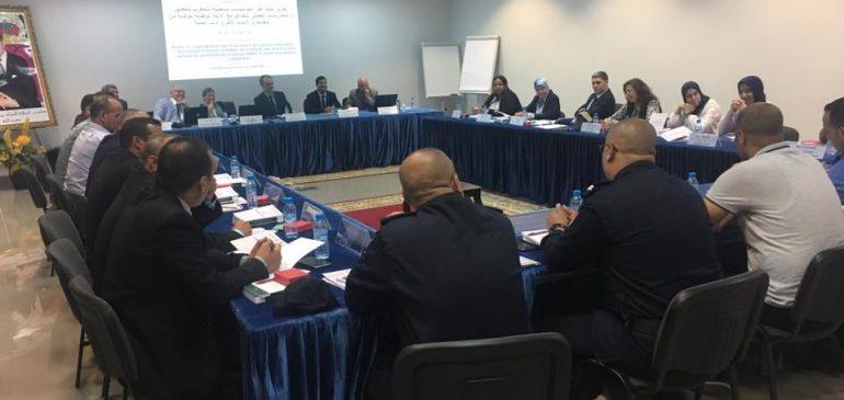 Ateliers de formation Renforcer l'appropriation par le personnel des prisons marocaines des normes et bonnes pratiques de réactivité avec le mécanisme national de prévention de la torture (MNP) et autres mécanismes compétents