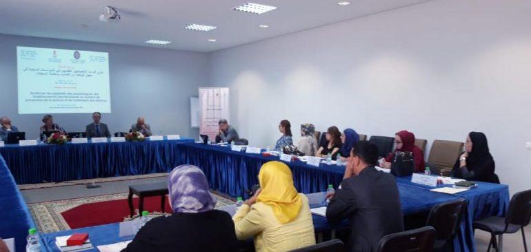 Atelier pour les psychologues de la DGAPR en matière de traitement des détenus et de prévention de la torture
